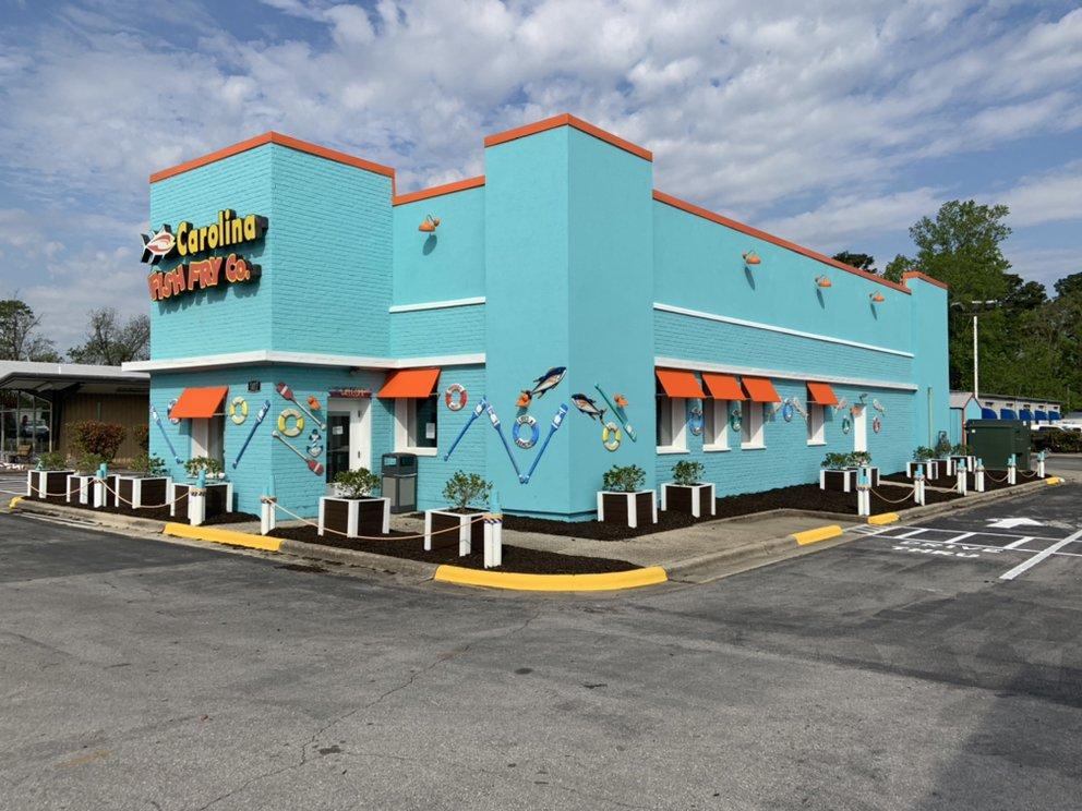 Carolina Fish Fry: 1417 N Marine Blvd, Jacksonville, NC