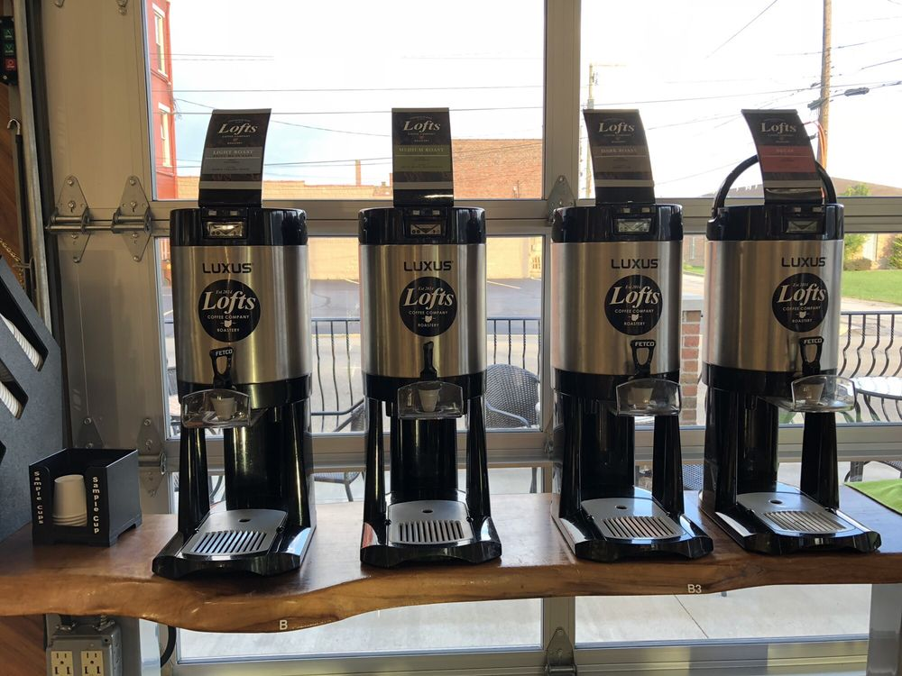 Lofts Coffee Company & Roastery: 842 Gallia St, Portsmouth, OH