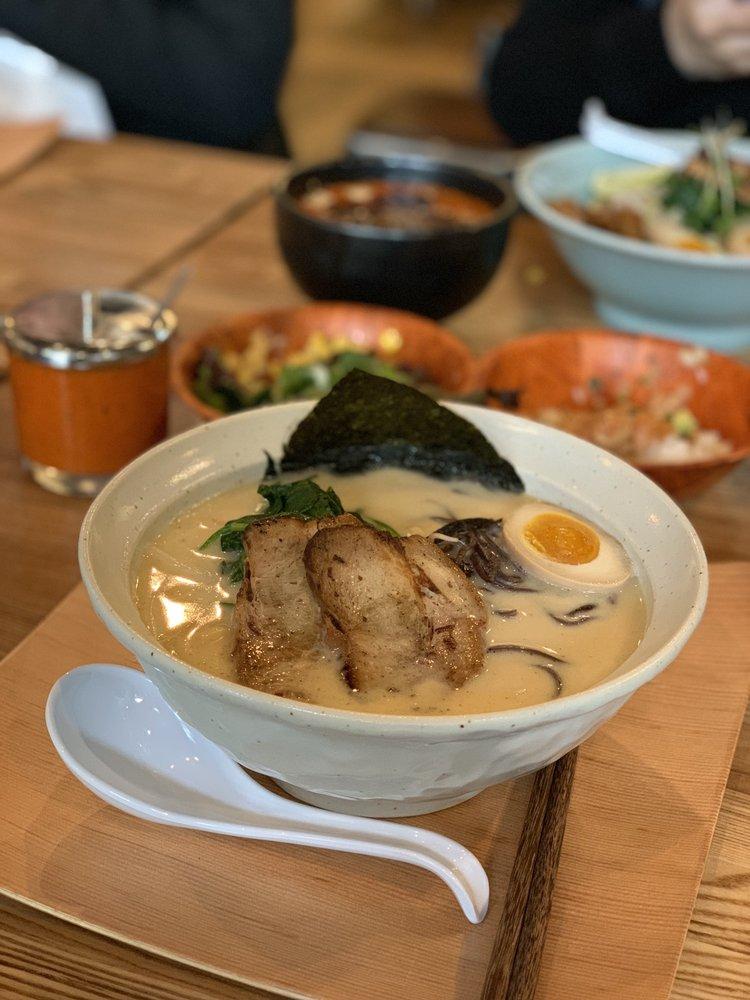 Food from HiroNori Craft Ramen