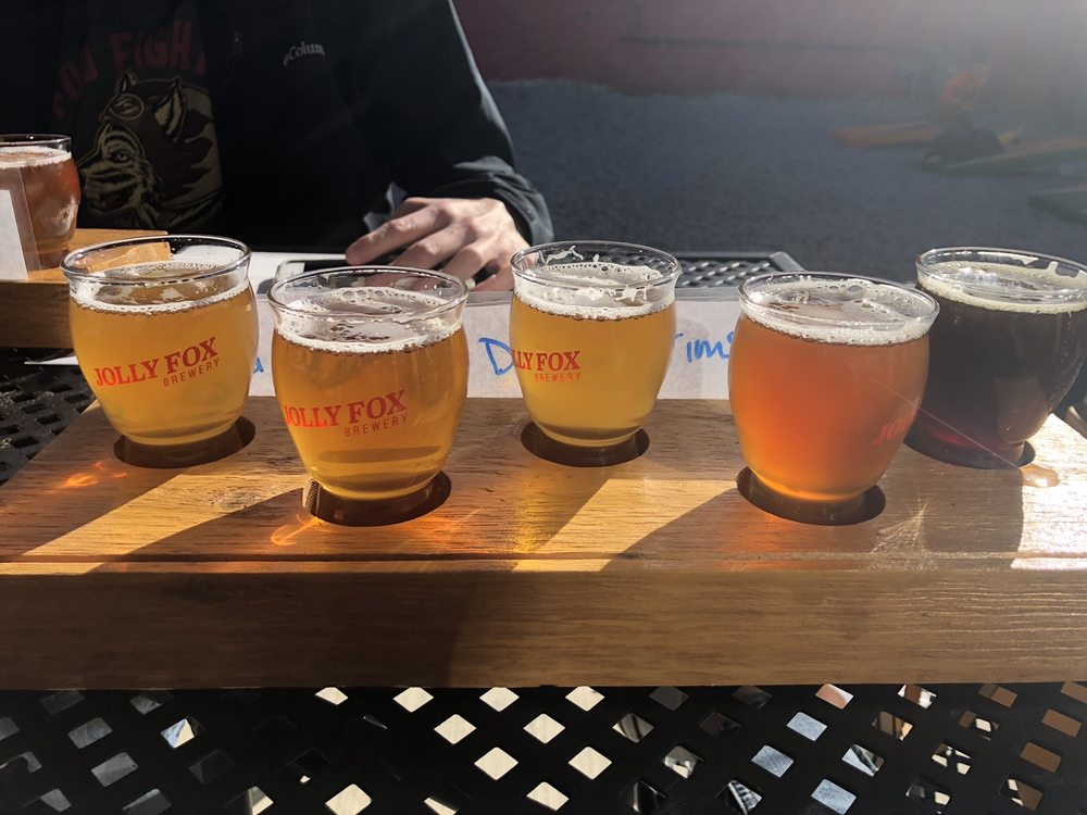 The Jolly Fox Brewery: 301 S Broadway, Pittsburg, KS