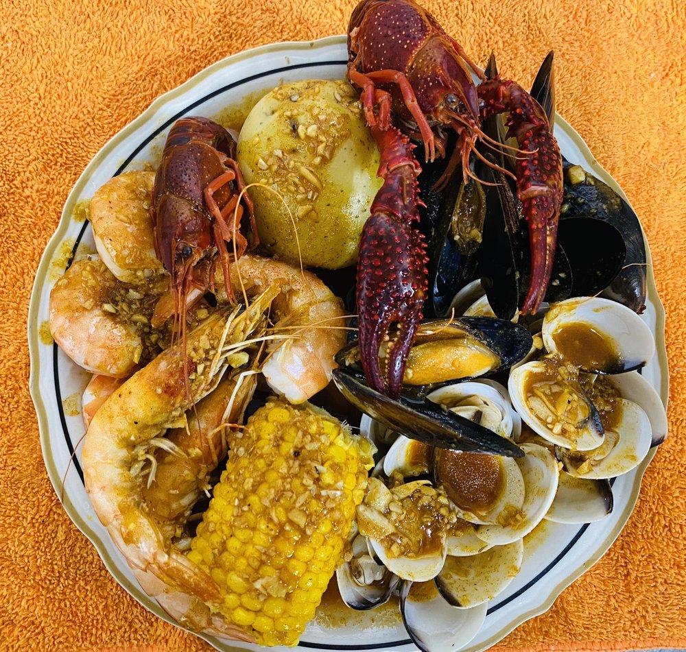 Karen's seafood: 13843 Outlet Dr, Silver Spring, MD