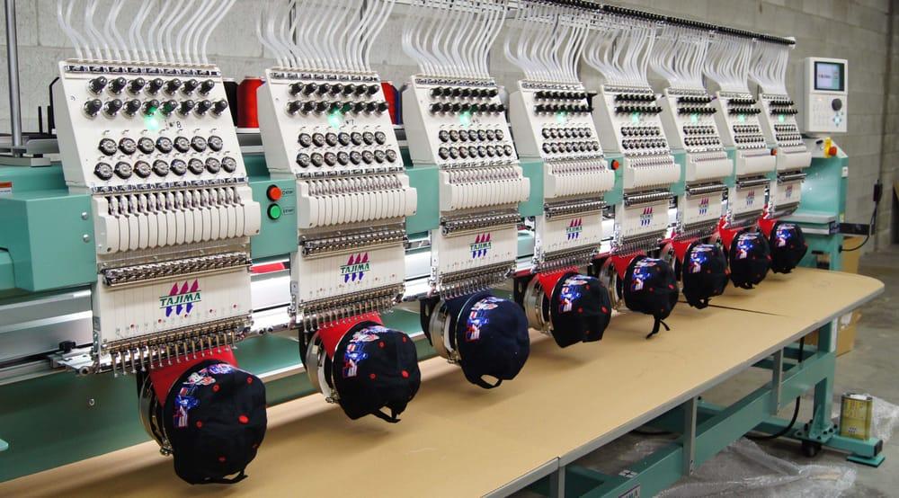 embroidery printing machine