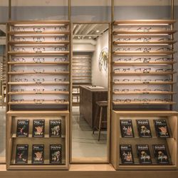 1deb0b7fc07 Photo of Warby Parker Map Room at Alchemy Works Harbor House - Newport  Beach