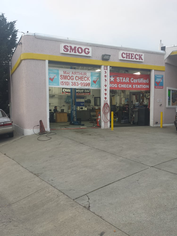 Macarthur Smog Check 29 Reviews Motor Vehicle Inspection Testing 999 Macarthur Blvd San
