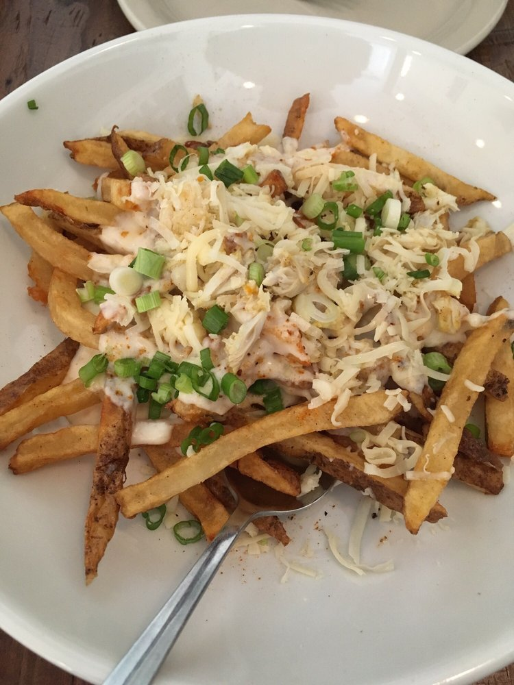 Crab Fries After Adding Some Salt They Were Great Yelp