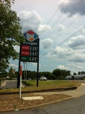 Kroger Fuel Gas Stations N Rodney Parham Rd Little Rock - Kroger in little rock