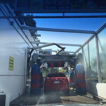 Chevron Drive Through Car Wash