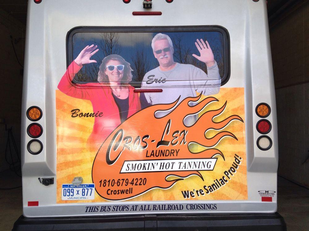 Cros-Lex Laundry & Tanning: 37 Ward St, Croswell, MI