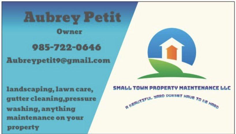 Small Town Property Maintenance: Des Allemands, LA