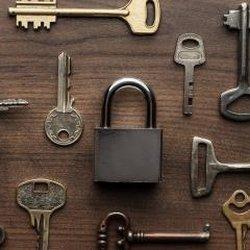 Columbia lock and key