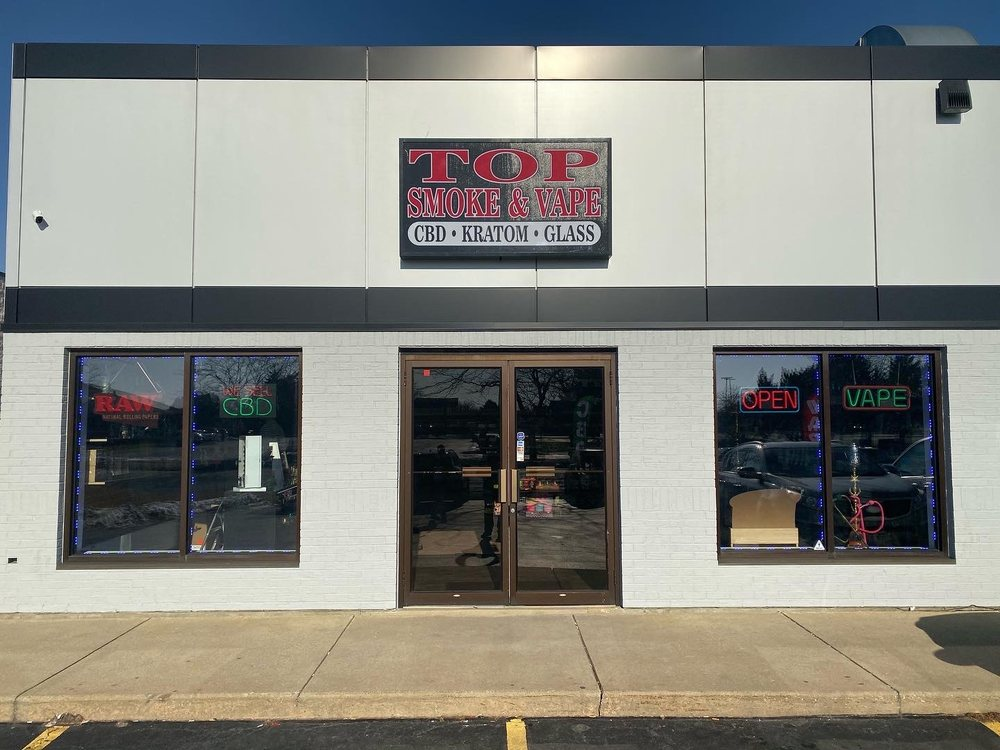 Top Smoke & Vape: 573 Wm Latham Dr, Bourbonnais, IL