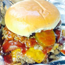 Photo Of Levee Break Grill   Cleveland, MS, United States. BBQ Bacon  Cheeseburger