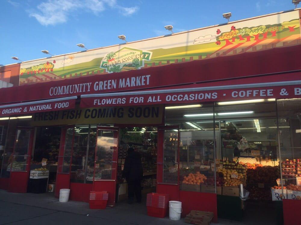 Community green market 19 photos supermarkets 2228 for Fish market bronx