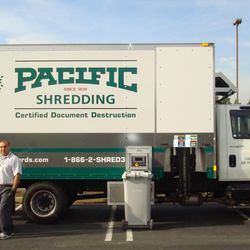 Photo Of Pacific Records Management   Fresno, CA, United States. Mobile  Paper Shredding