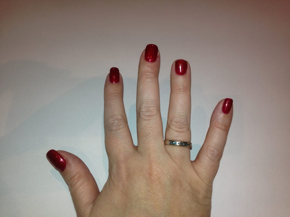 IT\'S NOT THEIR FAULT I broke my nail before going in. - Yelp