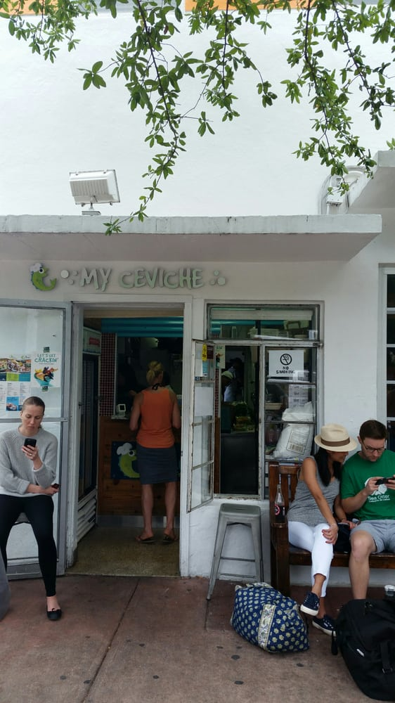 Ceviche  Miami Beach Fl