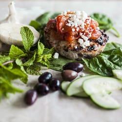 Photo Of Snap Kitchen   Houston, TX, United States. Mediterranean Burger  Bowl