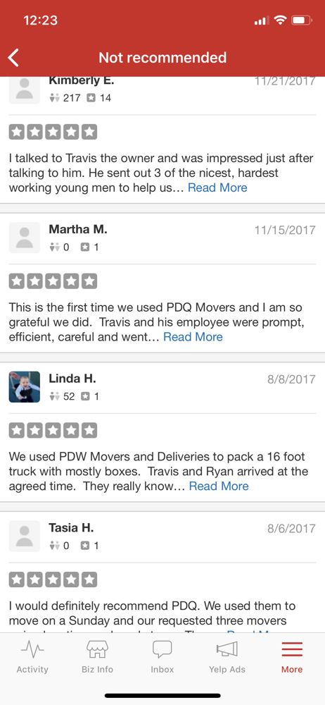 PDQ Movers And Deliveries - 46 Photos & 14 Reviews - Movers