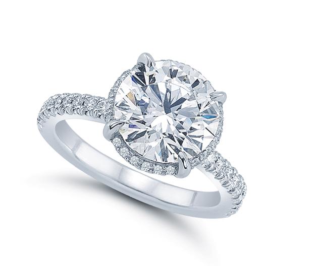 round brilliant diamond in our ali setting yelp