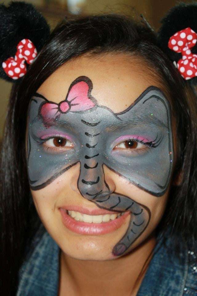 Elephant Face Painting Images amp Pictures Becuo