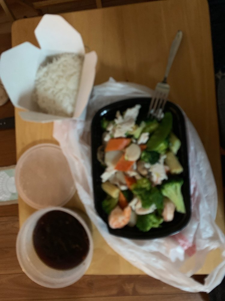 New China Restaurant: 9869 Ocean Hwy W, Calabash, NC