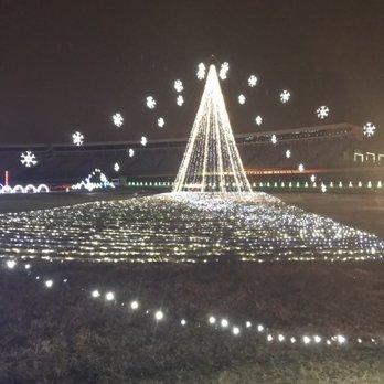 photo of charlotte motor speedway concord nc united states - Charlotte Motor Speedway Christmas Lights 2014