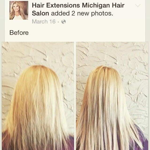 Beforeafter Beadedhair Locs Hair Extensions Cinderella Hair