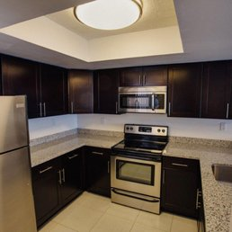 Photo Of Palm Isle Apartments   Miami, FL, United States. Modern Wood  Cabinetry