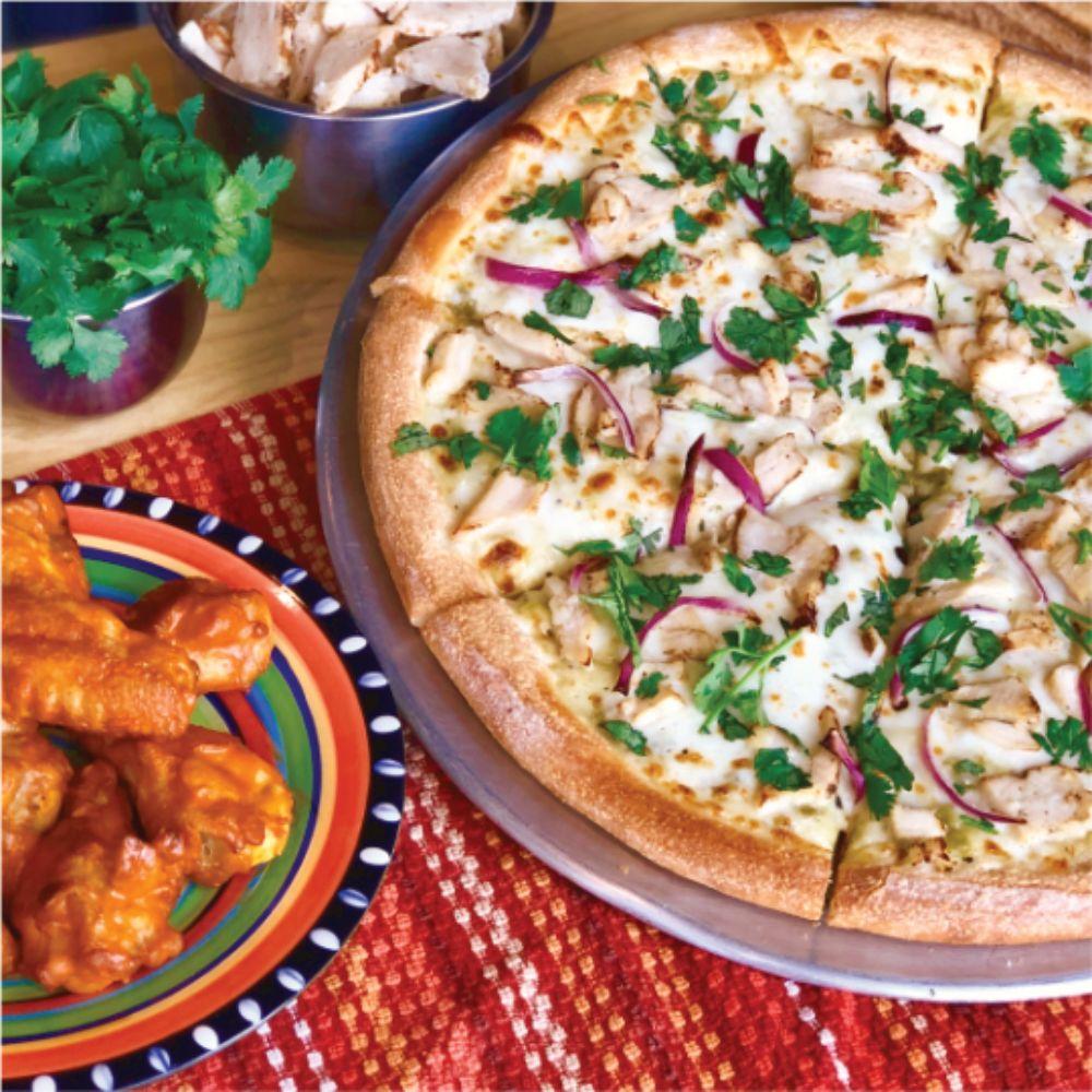 Food from Pizza Patrón