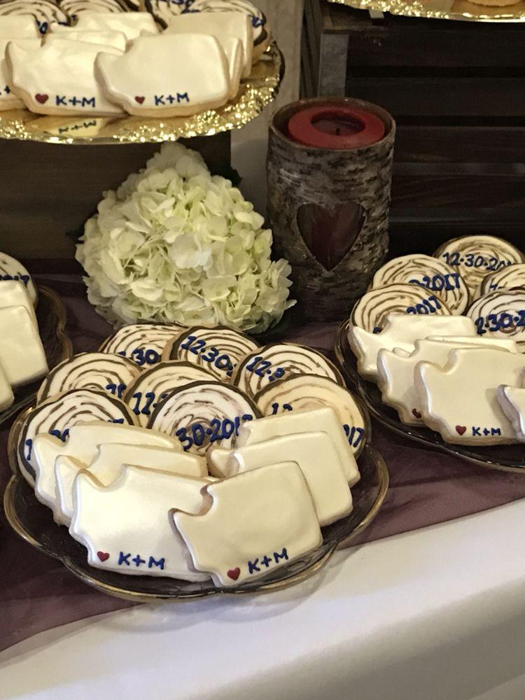 Decorated Shortbread Wedding Cookies - Yelp