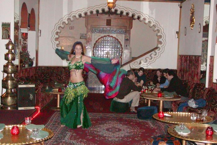 Belly dancer yelp for Aicha moroccan cuisine san francisco