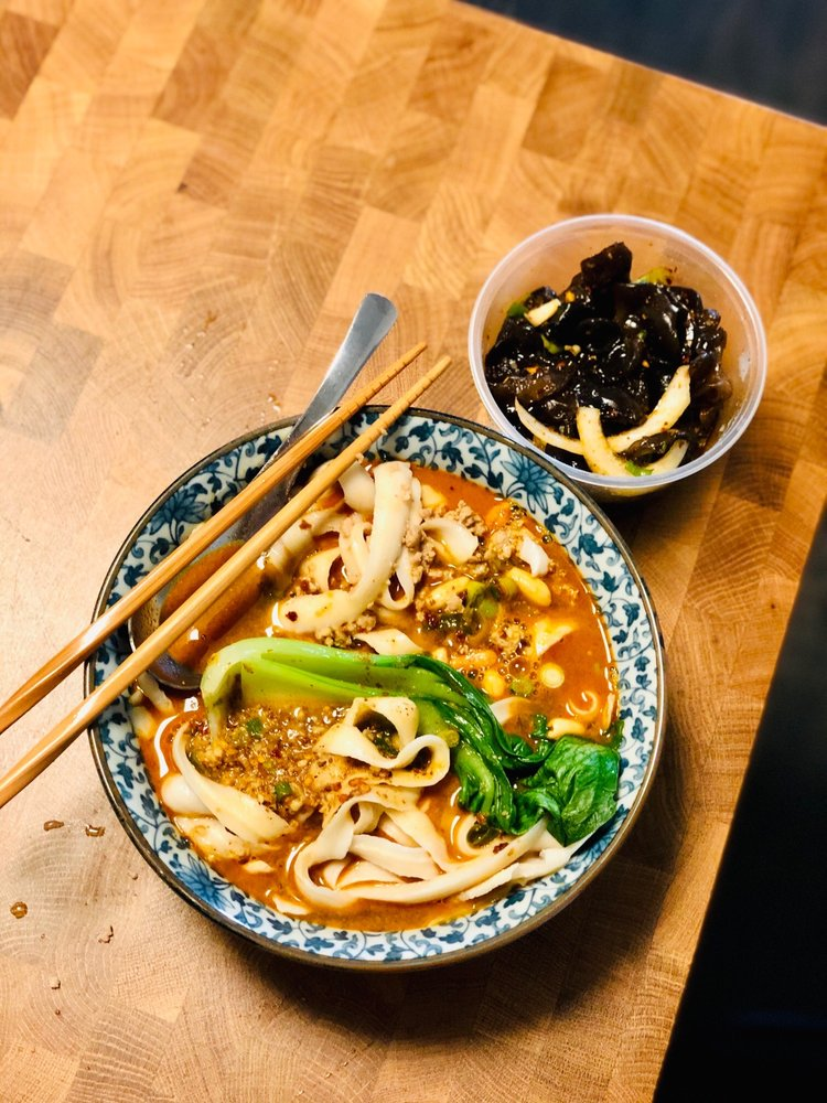 Food from Huangcheng Noodle House