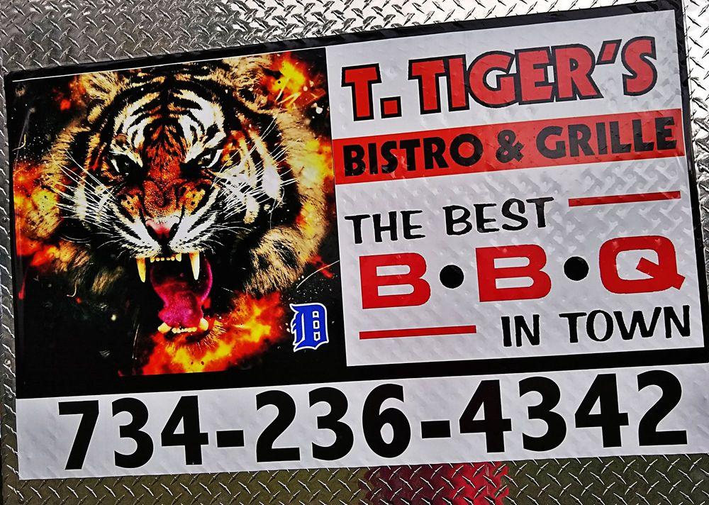 T Tigers Bistro & Grille: South Rockwood, MI