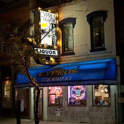 Cyprus Taverna Closed Greek 579 Monroe St Greektown Detroit