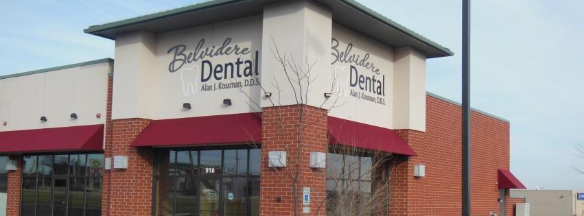 Belvidere Dental - Alan J. Kossman, DDS: 916 Belvidere Rd, Belvidere, IL