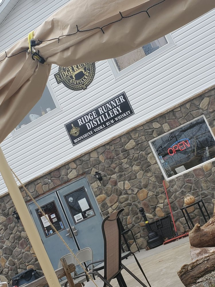 Ridge Runner Distillery: 417 Fayette Springs Rd, Chalk Hill, PA