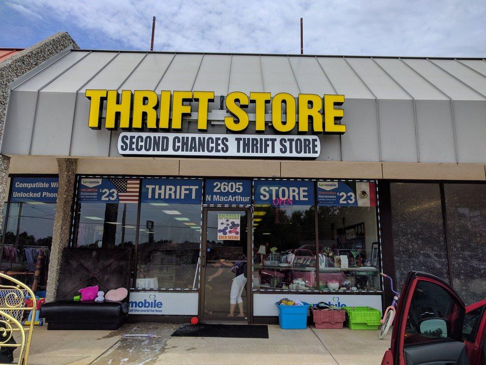Second Chances Thrift Store: 2605 N Macarthur Blvd, Oklahoma City, OK