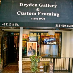 photo of dryden gallery framing new york ny united states