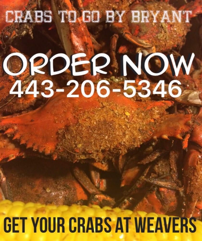 Crabs To Go Bryant Crab Company: 1747 W Pulaski Hwy, Elkton, MD
