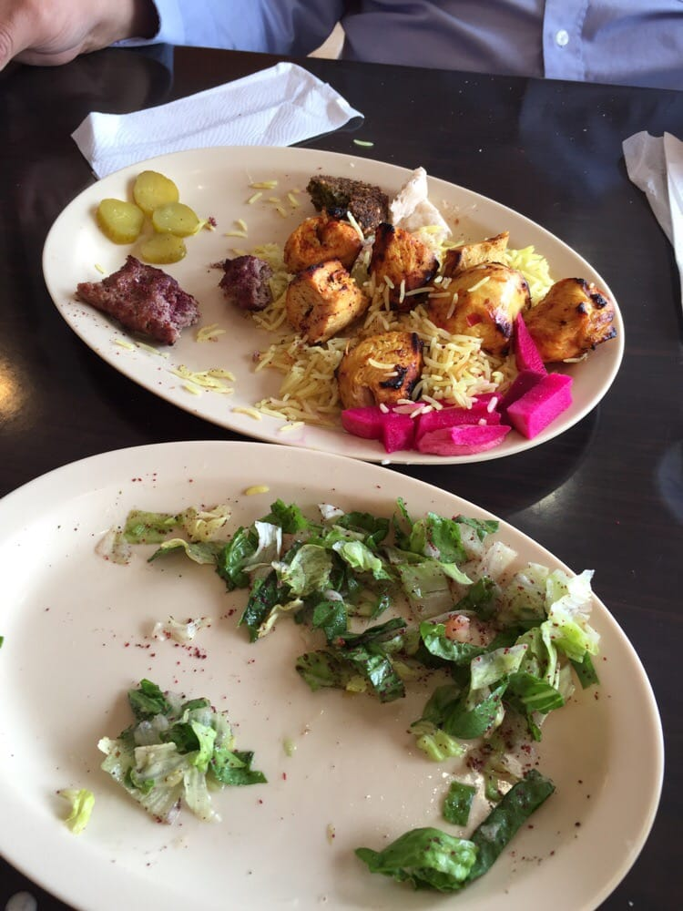 Mixed kebab yelp for Al tannour mediterranean cuisine menu