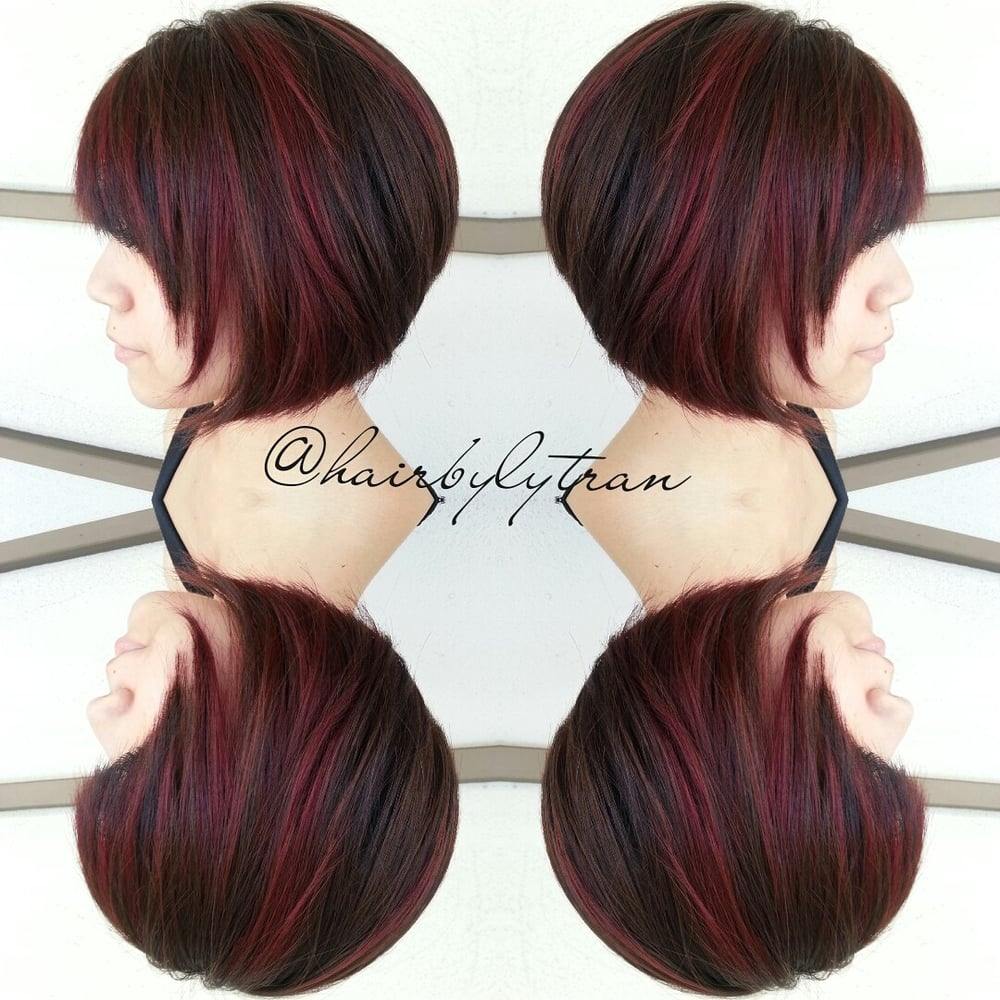 Red Violet Dimensional Highlights And Lowlights Yelp