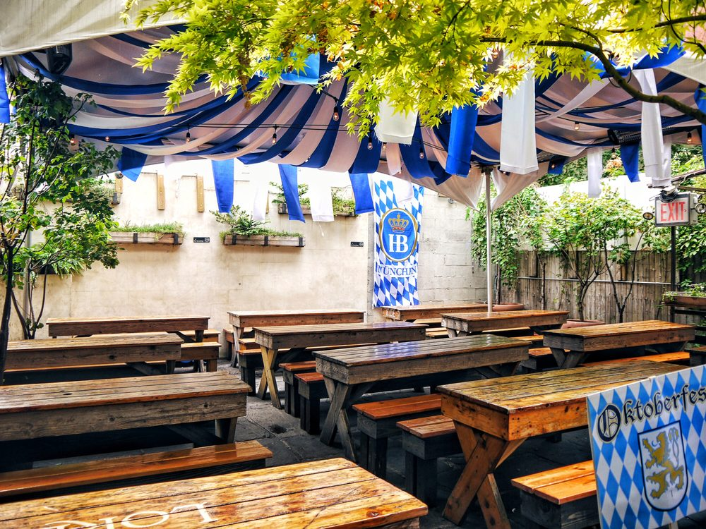 Loreley beer garden order food online 343 photos 606 reviews german lower east side for What is a beer garden
