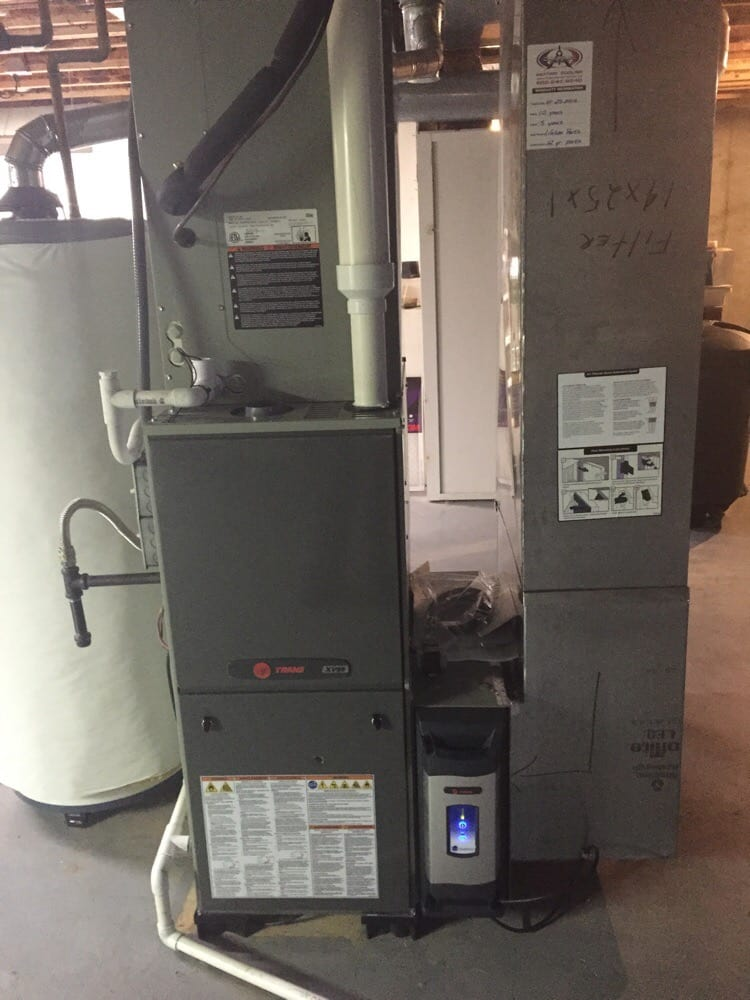 Trane High Efficiency Furnace With Electronic Air Cleaner