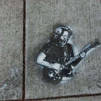 Photo of Grateful Dead House - San Francisco, CA, United States. Jerry Garcia