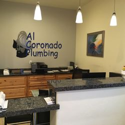 Photo Of Al Coronado Plumbing Tucson Az United States Front Desk