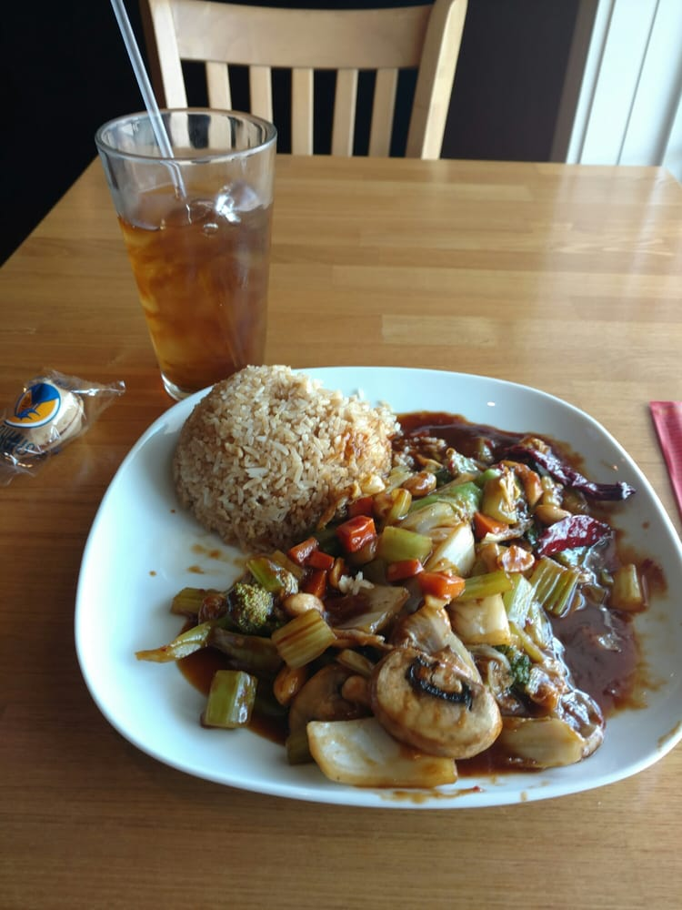 Quot Kung Pow Quot Veggie At Shen Cafe Yelp