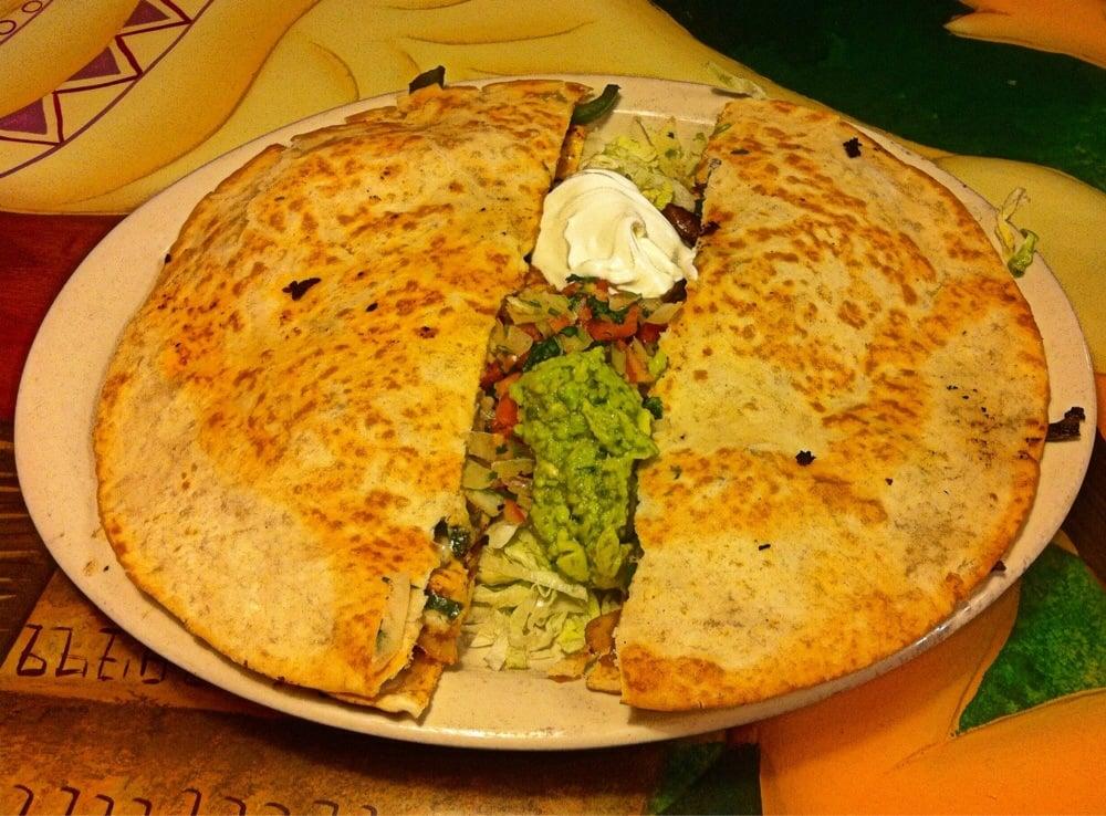 Food from El Vaquero