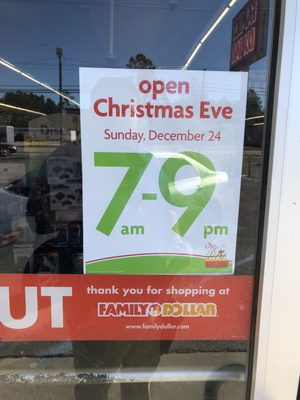 Photo of Family Dollar Store - Hampton, SC, United States. Holiday Hours