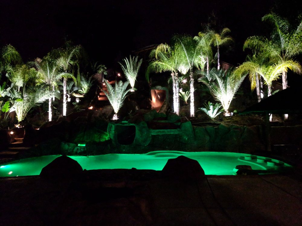 Need Lighting Backyards By Design Has Got The Brass Housing LED Yelp Extraordinary Backyards By Design
