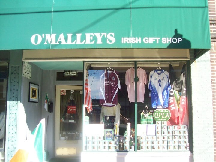 O'Malleys Irish Gift Shop: 2718 Sutton, Maplewood, MO